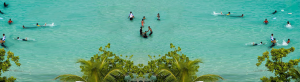 The beauty of Artificial Beach amid Natural Maldives
